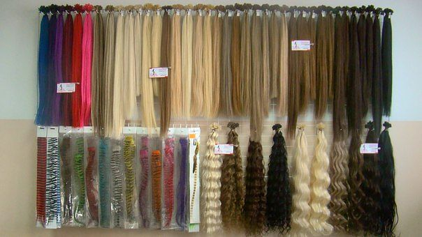 Волосы натуральные на заколках рязань